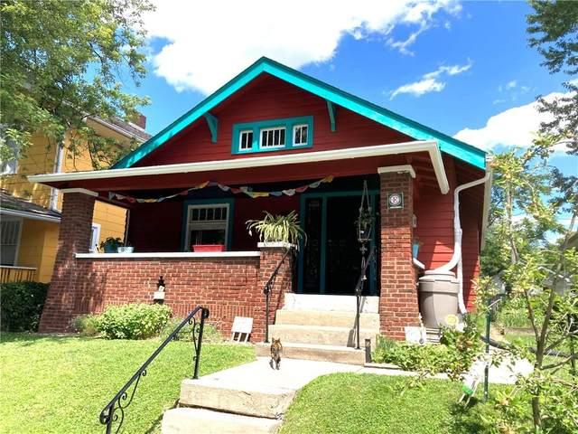 601 N Bosart Avenue, Indianapolis, IN 46201 (MLS #21794968) :: Heard Real Estate Team | eXp Realty, LLC
