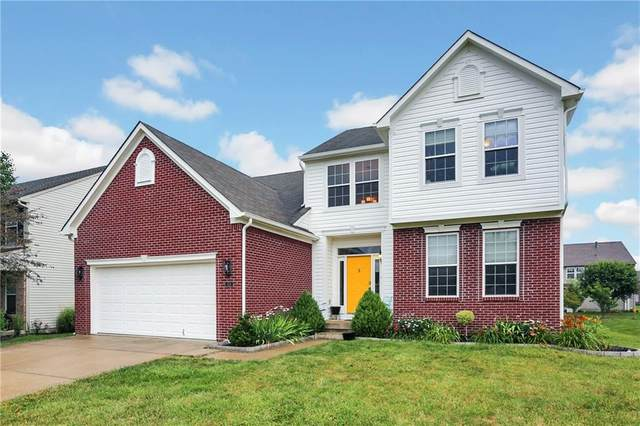 1526 Old Thicket Court, Greenwood, IN 46143 (MLS #21795574) :: Dean Wagner Realtors
