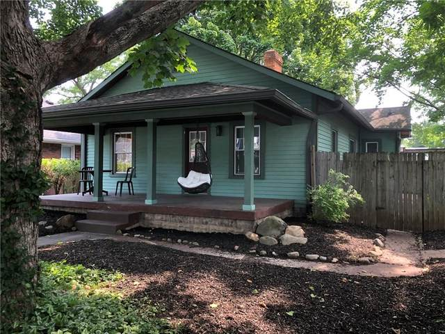 4907 Winthrop Avenue, Indianapolis, IN 46205 (MLS #21796854) :: Mike Price Realty Team - RE/MAX Centerstone