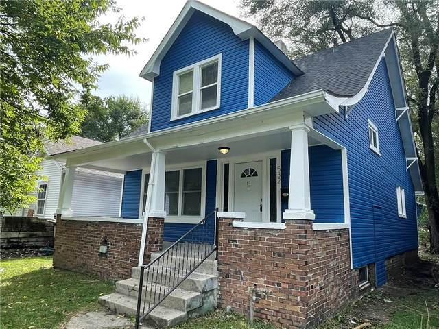 532 N Denny Street, Indianapolis, IN 46201 (MLS #21797550) :: Mike Price Realty Team - RE/MAX Centerstone