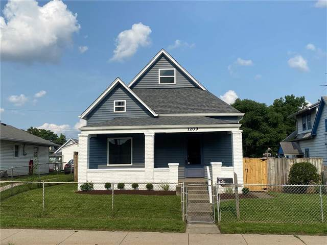 1209 S State Avenue, Indianapolis, IN 46203 (MLS #21798034) :: Mike Price Realty Team - RE/MAX Centerstone
