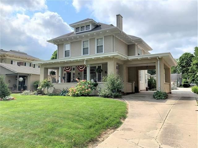 409 E Wabash Avenue, Crawfordsville, IN 47933 (MLS #21798088) :: Heard Real Estate Team   eXp Realty, LLC