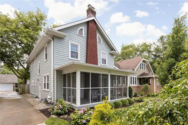 321 E 47th Street, Indianapolis, IN 46205 (MLS #21798830) :: Heard Real Estate Team | eXp Realty, LLC