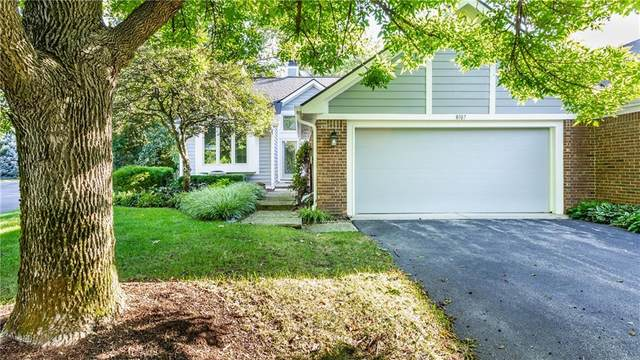 8107 Clearwater Parkway, Indianapolis, IN 46240 (MLS #21799400) :: Mike Price Realty Team - RE/MAX Centerstone