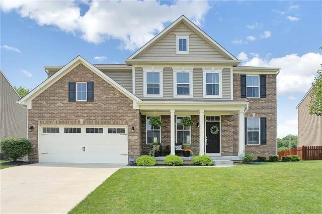 1610 Oakvista Drive, Greenwood, IN 46143 (MLS #21799865) :: AR/haus Group Realty