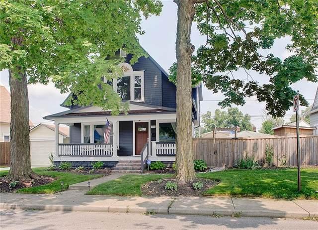 951 Tecumseh Street, Indianapolis, IN 46201 (MLS #21800600) :: AR/haus Group Realty