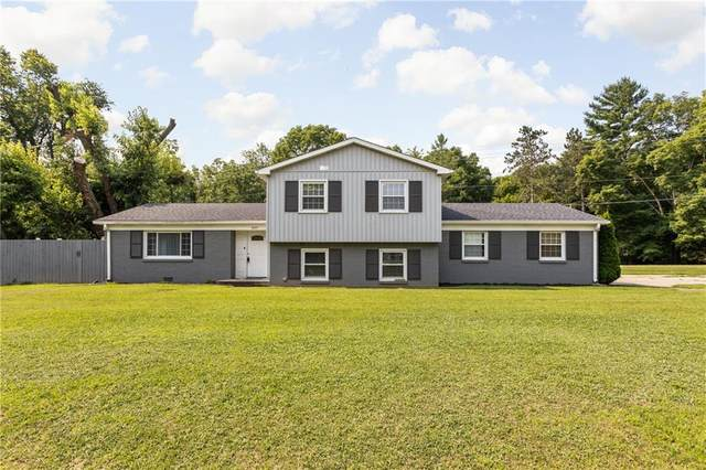 4645 E Us Highway 136, Pittsboro, IN 46167 (MLS #21801162) :: The Indy Property Source