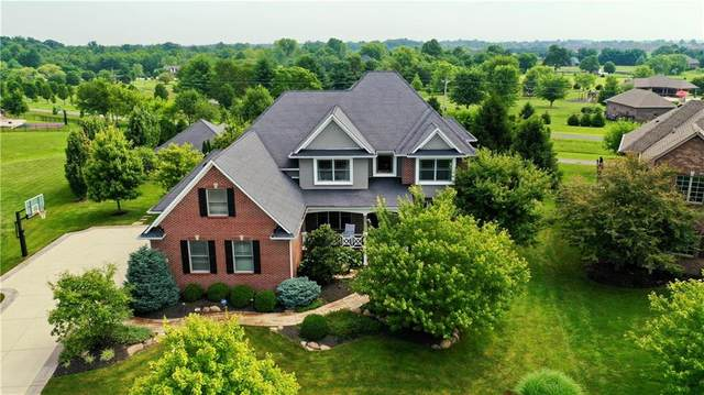 4553 Hickory Ridge Boulevard, Greenwood, IN 46143 (MLS #21801492) :: The Indy Property Source