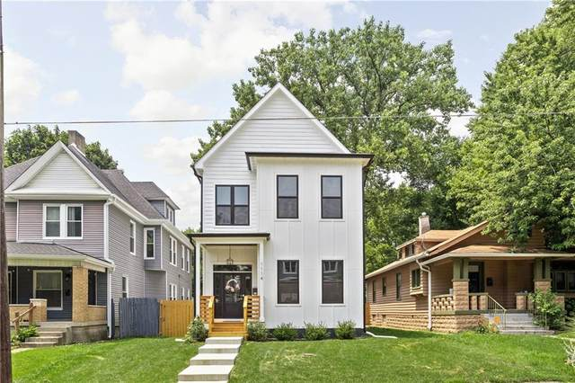 1114 Newman Street, Indianapolis, IN 46201 (MLS #21802663) :: AR/haus Group Realty