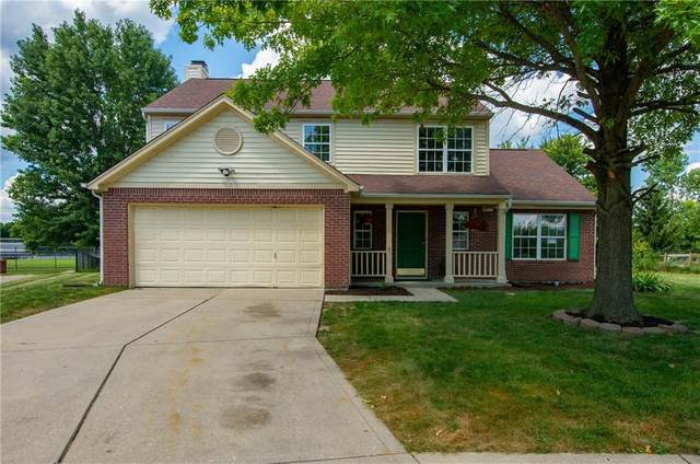 9910 Alexia Drive, Indianapolis, IN 46236 (MLS #21802819) :: The Evelo Team