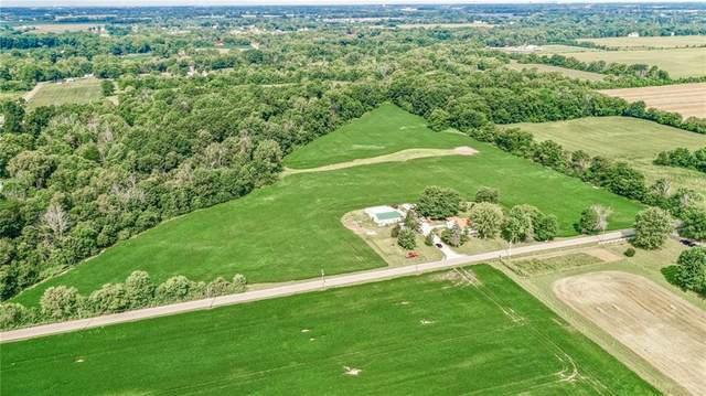 8111 N 850 West Road, Fairland, IN 46126 (MLS #21803326) :: The Evelo Team