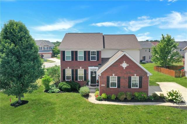 7830 Wedgetail Drive, Zionsville, IN 46077 (MLS #21803646) :: The Indy Property Source