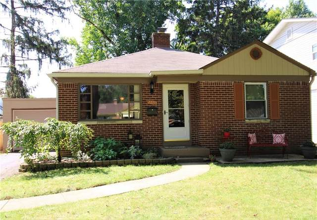 2235 E 58th Street, Indianapolis, IN 46220 (MLS #21803874) :: The Evelo Team