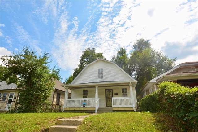 1133 W 35th Street, Indianapolis, IN 46208 (MLS #21804222) :: Pennington Realty Team