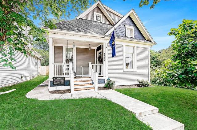 1327 Wright Street, Indianapolis, IN 46203 (MLS #21805294) :: The Evelo Team