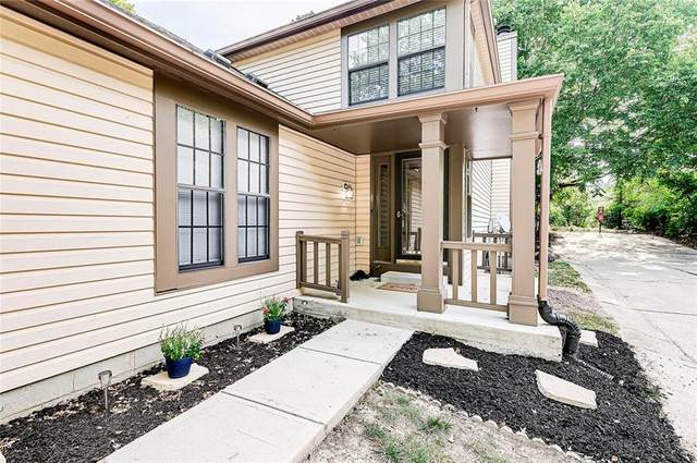 7935 Glen View Drive, Indianapolis, IN 46236 (MLS #21805569) :: AR/haus Group Realty