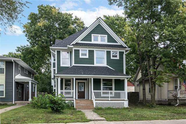 2217 N New Jersey Street, Indianapolis, IN 46205 (MLS #21805812) :: The Evelo Team