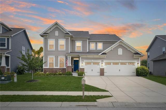 7735 Tanager Court, Zionsville, IN 46077 (MLS #21806342) :: The Indy Property Source