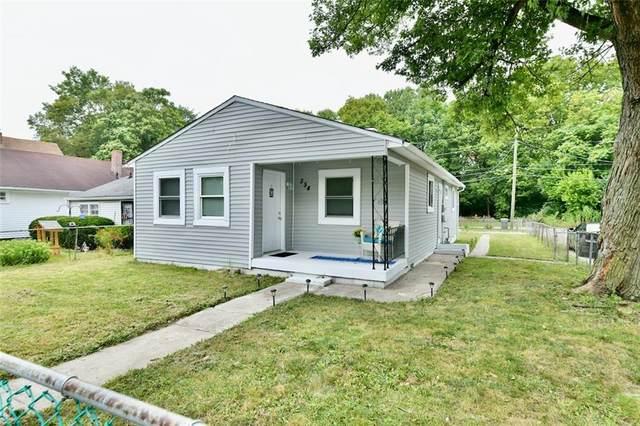 554 N Luett Avenue, Indianapolis, IN 46222 (MLS #21806921) :: JM Realty Associates, Inc.