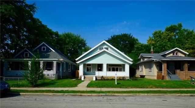 1008 N Olney Street, Indianapolis, IN 46201 (MLS #21808472) :: Richwine Elite Group