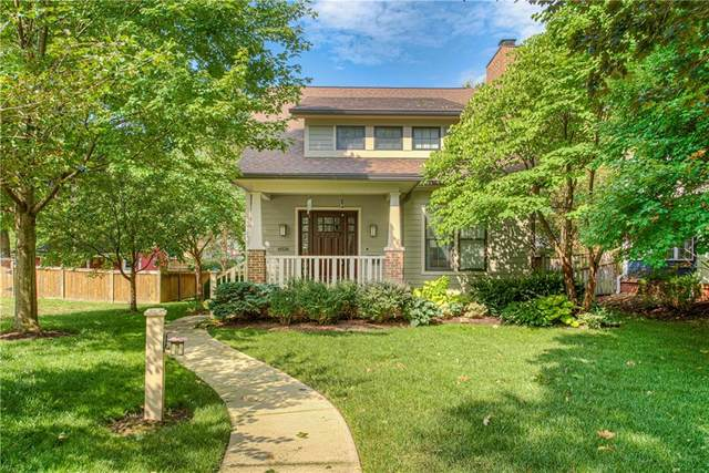 6026 Guilford Avenue, Indianapolis, IN 46220 (MLS #21808553) :: The Evelo Team