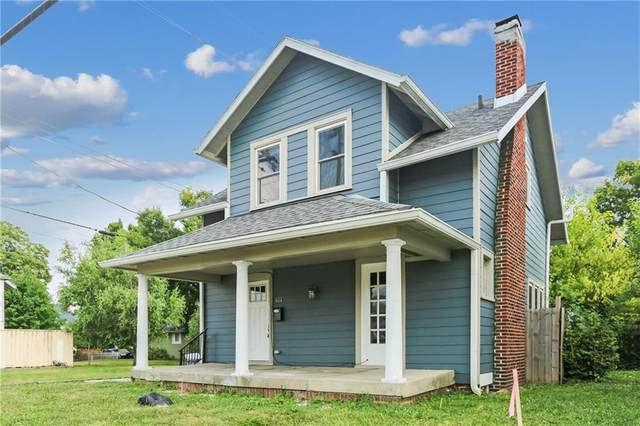 611 E 34TH Street, Indianapolis, IN 46205 (MLS #21809302) :: The Evelo Team