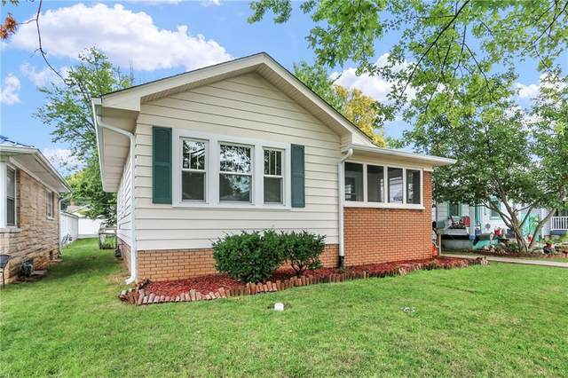 5032 W 13 Street, Speedway, IN 46224 (MLS #21809393) :: Mike Price Realty Team - RE/MAX Centerstone