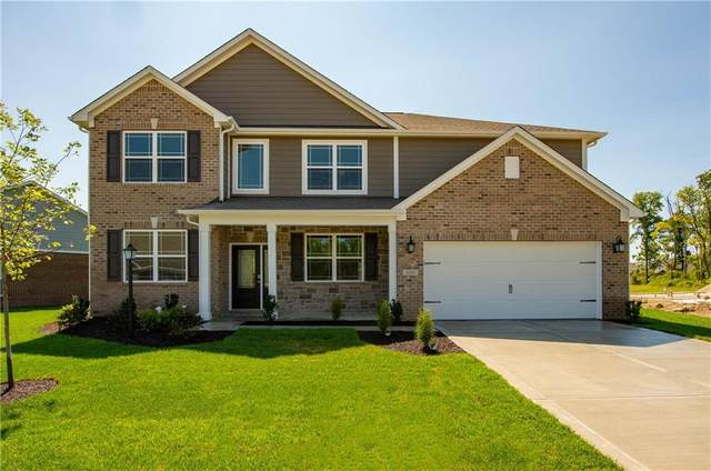 6321 Dugan Drive, Whitestown, IN 46075 (MLS #21810451) :: Mike Price Realty Team - RE/MAX Centerstone