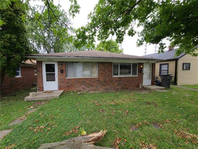 2246 N Leland Avenue, Indianapolis, IN 46218 (MLS #21811123) :: Mike Price Realty Team - RE/MAX Centerstone