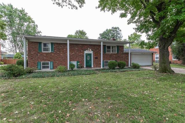 3201 Fairlawn Drive, Columbus, IN 47203 (MLS #21813786) :: The Indy Property Source