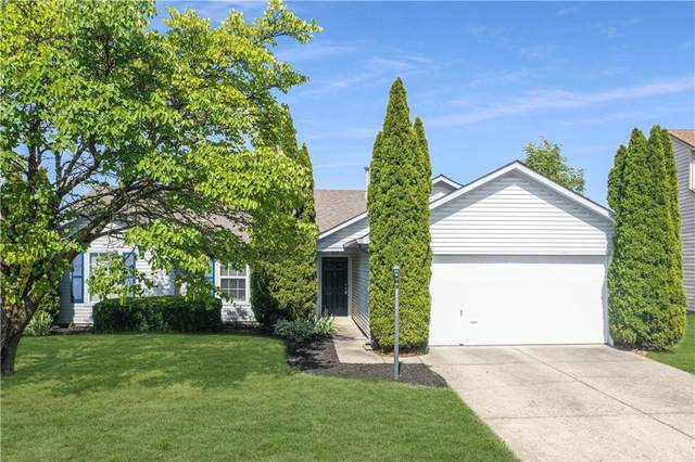 5668 Rains Lane, Indianapolis, IN 46254 (MLS #21814051) :: Mike Price Realty Team - RE/MAX Centerstone
