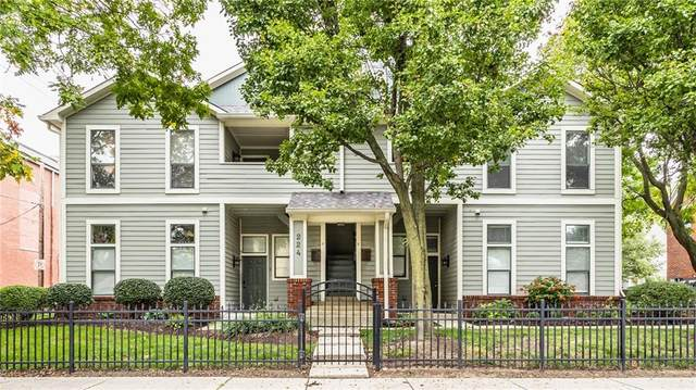 224 E 13th Street E, Indianapolis, IN 46202 (MLS #21814180) :: JM Realty Associates, Inc.
