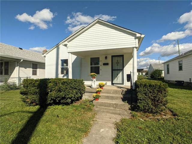 735 S Sherman Drive, Indianapolis, IN 46203 (MLS #21814577) :: Mike Price Realty Team - RE/MAX Centerstone