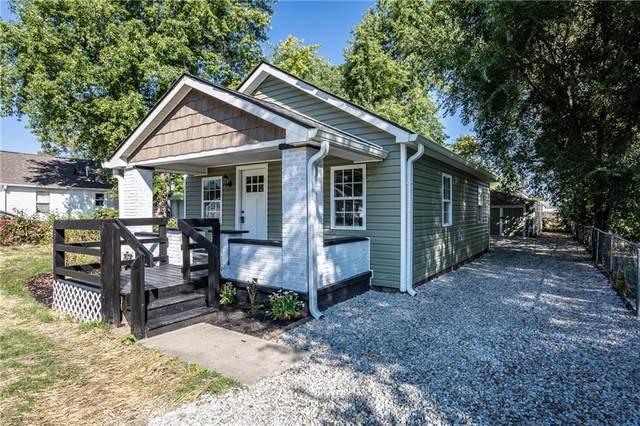 742 Martin Street, Indianapolis, IN 46227 (MLS #21814875) :: Mike Price Realty Team - RE/MAX Centerstone
