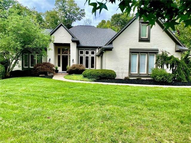 9703 Springstone Road, Fishers, IN 46055 (MLS #21814899) :: Mike Price Realty Team - RE/MAX Centerstone