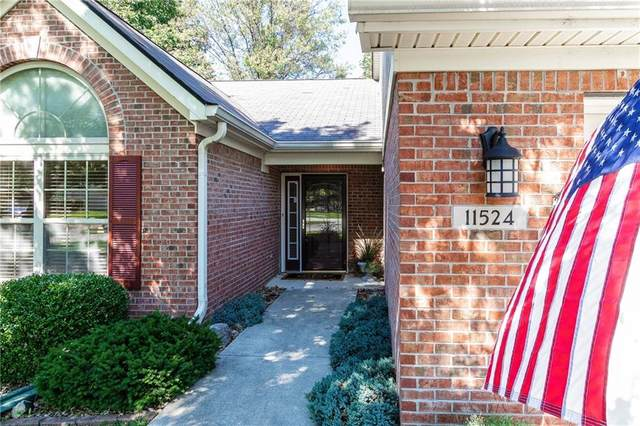 11524 Arielle Drive, Fishers, IN 46038 (MLS #21814952) :: Quorum Realty Group