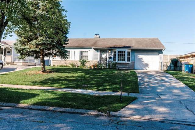4914 Elmhurst Drive, Indianapolis, IN 46226 (MLS #21815030) :: Mike Price Realty Team - RE/MAX Centerstone