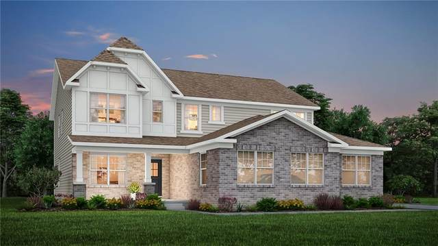 4744 Stanton Court, Zionsville, IN 46077 (MLS #21815037) :: The ORR Home Selling Team
