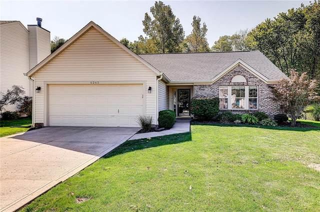 6265 Saddletree Drive, Zionsville, IN 46077 (MLS #21815357) :: JM Realty Associates, Inc.