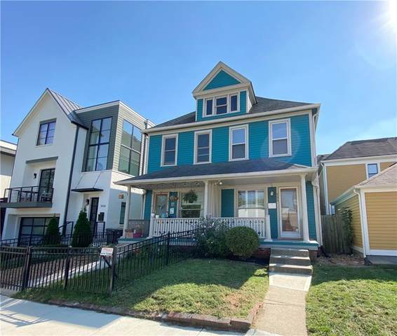 505 E 11TH Street, Indianapolis, IN 46202 (MLS #21816043) :: Mike Price Realty Team - RE/MAX Centerstone