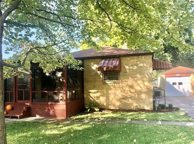 322 S Sheridan Avenue, Indianapolis, IN 46219 (MLS #21816387) :: Heard Real Estate Team | eXp Realty, LLC
