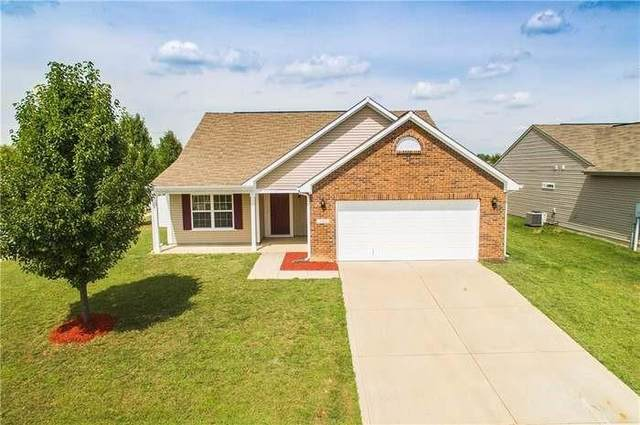 3480 Enclave Crossing, Greenwood, IN 46143 (MLS #21816867) :: The Evelo Team