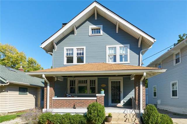 5442 E Hibben Avenue, Indianapolis, IN 46219 (MLS #21816879) :: Mike Price Realty Team - RE/MAX Centerstone