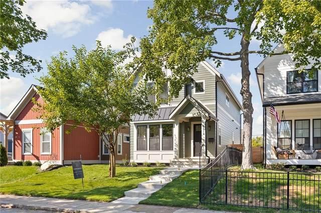 1914 Carrollton Avenue, Indianapolis, IN 46202 (MLS #21816955) :: Ferris Property Group