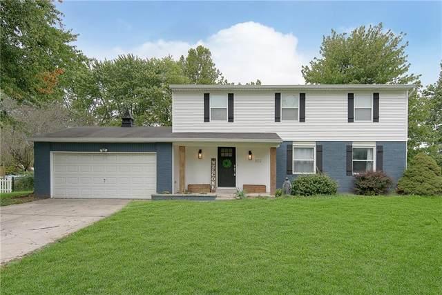 1172 W Greenbriar Drive, Greenwood, IN 46142 (MLS #21817746) :: Pennington Realty Team