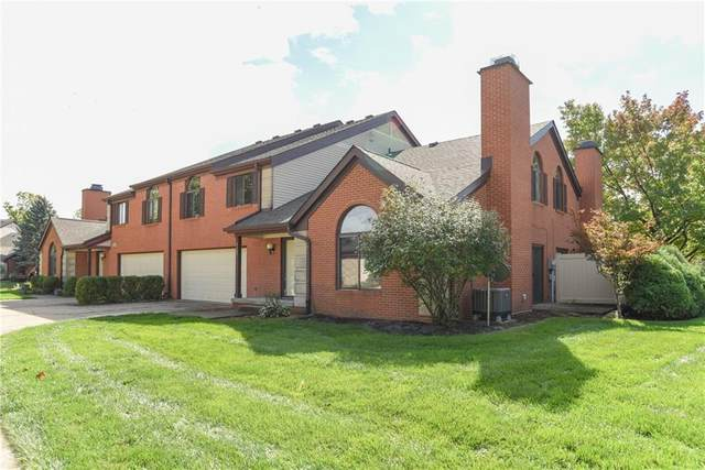 9303 Golden Oaks West Drive, Indianapolis, IN 46260 (MLS #21818180) :: Mike Price Realty Team - RE/MAX Centerstone