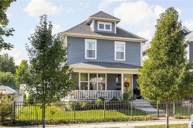 558 N Hamilton Avenue, Indianapolis, IN 46201 (MLS #21818985) :: Ferris Property Group