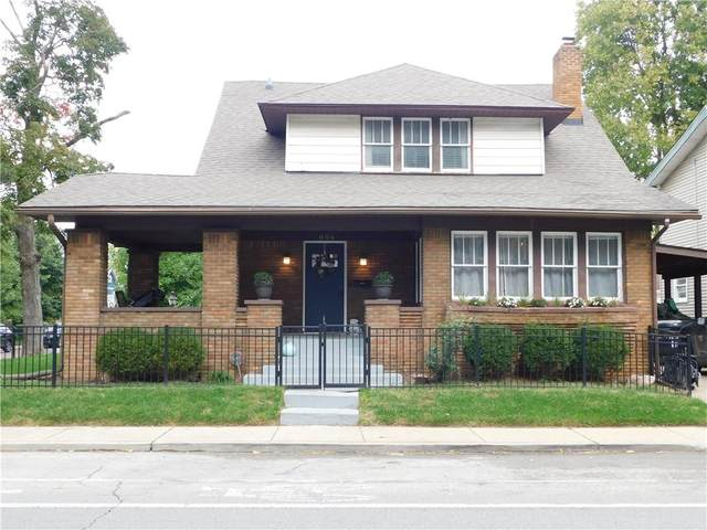 806 E 46TH Street, Indianapolis, IN 46205 (MLS #21820565) :: Pennington Realty Team