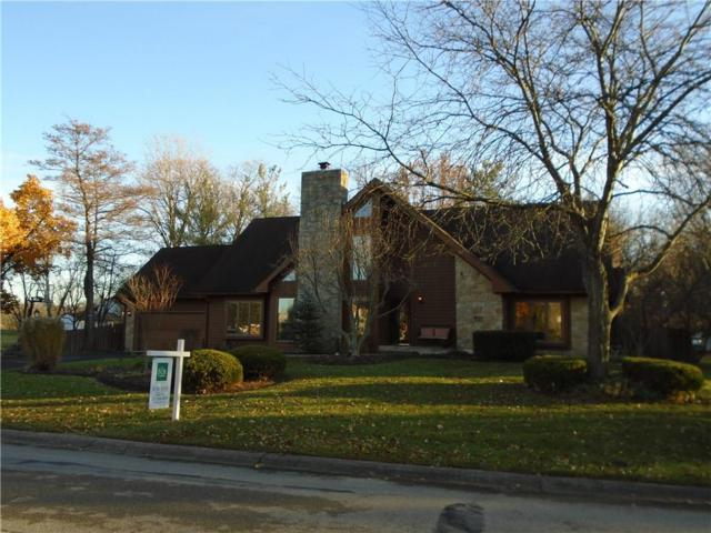 10447 Leeward Boulevard, Indianapolis, IN 46256 (MLS #21524229) :: The ORR Home Selling Team
