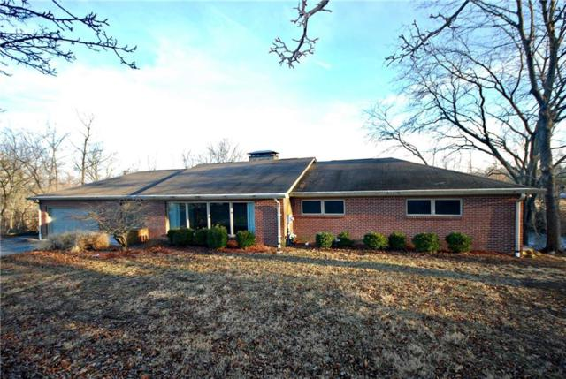 9503 W Raintree Drive S, Columbus, IN 47201 (MLS #21545242) :: The ORR Home Selling Team